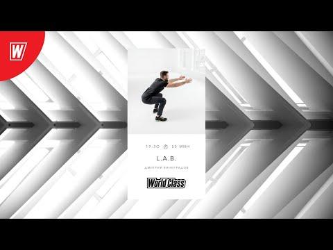 L.A.B. с Дмитрием Виноградовым | 30 сентября 2020 | Онлайн-тренировки World Class
