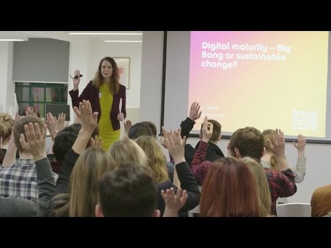 Digital maturity in the charity sector: big bang or sustainable change? - Jo Wolfe