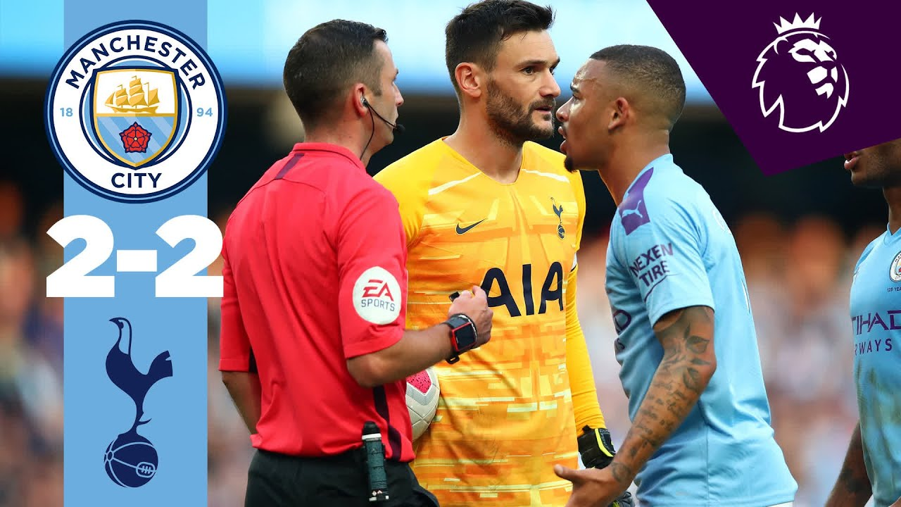 HIGHLIGHTS | Man City 2-2 Tottenham | Sterling, Aguero, Lamela, Moura