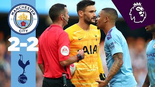 Highlights  Man City 2 2 Tottenham  Sterling Aguero Lamela Moura