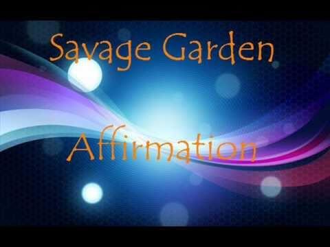 Savage Garden- Affirmation Lyrics