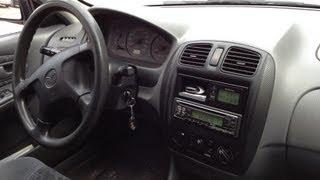 Mazda 323F Inside