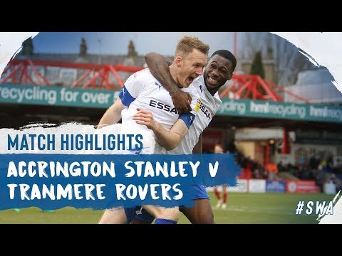 Accrington Tranmere Goals And Highlights