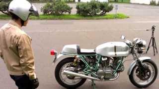 Ducati 900ss bevel 試運転