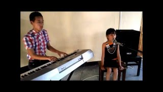 Aahoh Acoustic Cover by 7 Years Old Abi Nyekha