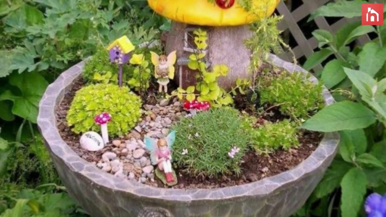 Magical Fairy Garden Design Ideas - YouTube