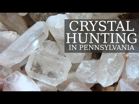 Crystal Hunting In Pennsylvania - HUGE Finds