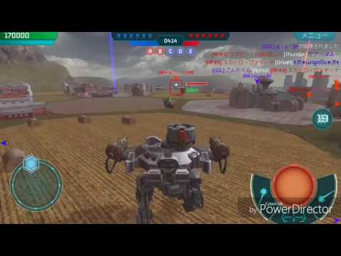 【War Robots Android】SGL(5) vs AF*Ⅱ(6)