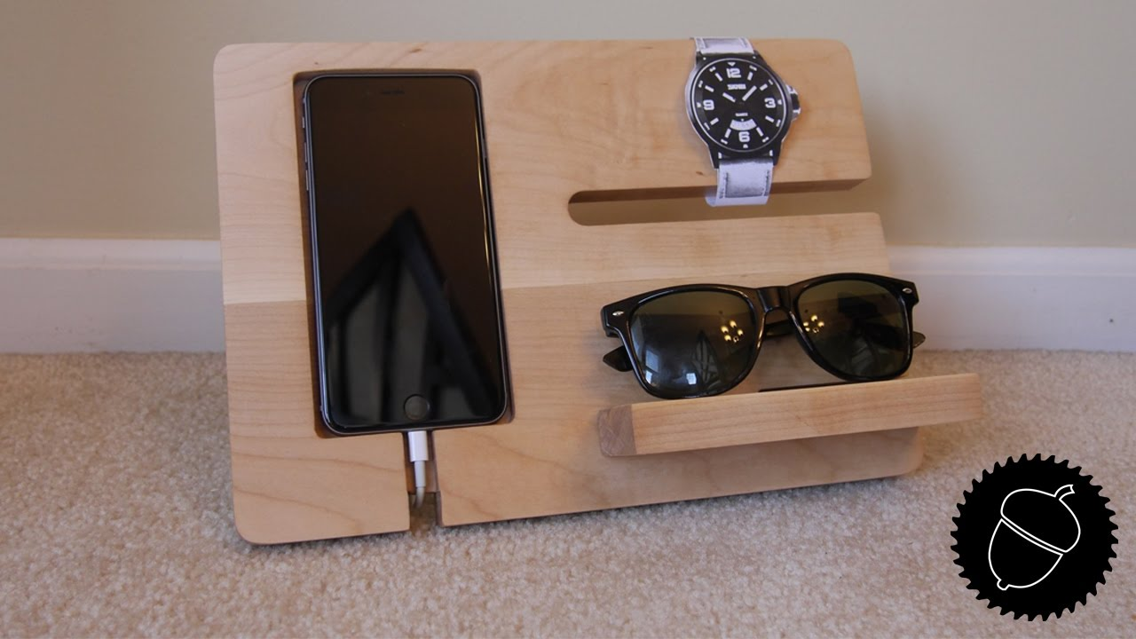 How To Make A Night Stand Charging Station Youtube