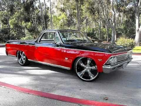 1966 chevy el camino 327 custom design by mg motoring youtube sciox Image collections