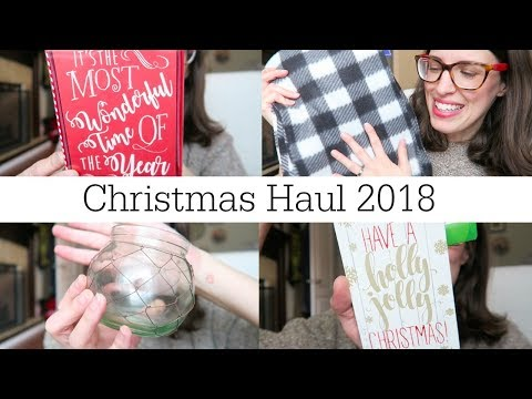 First Dollar Tree CHRISTMAS Haul 2018 | Expensive Looking Finds