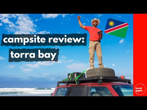 Campsite Review: Torra Bay, Skeleton Coast (Namibia Self Drive)[Best Surf Fishing Camping]