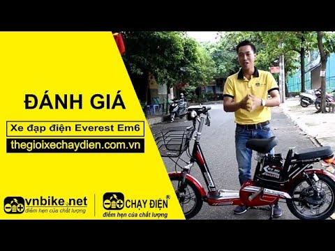 Đánh giá xe đạp điện Everest EM6