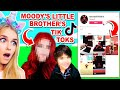 REACTING To MOODYS BROTHERS *TIKTOKS* He HACKED Her ACCOUNT In Adopt Me! (Roblox)