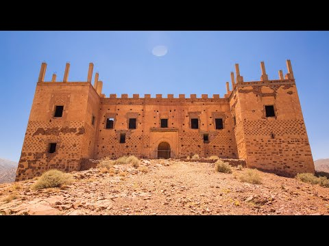 Kasbah Tagountaft, overlooking the Atlas Mountains, absolutely stunning property full of potential.