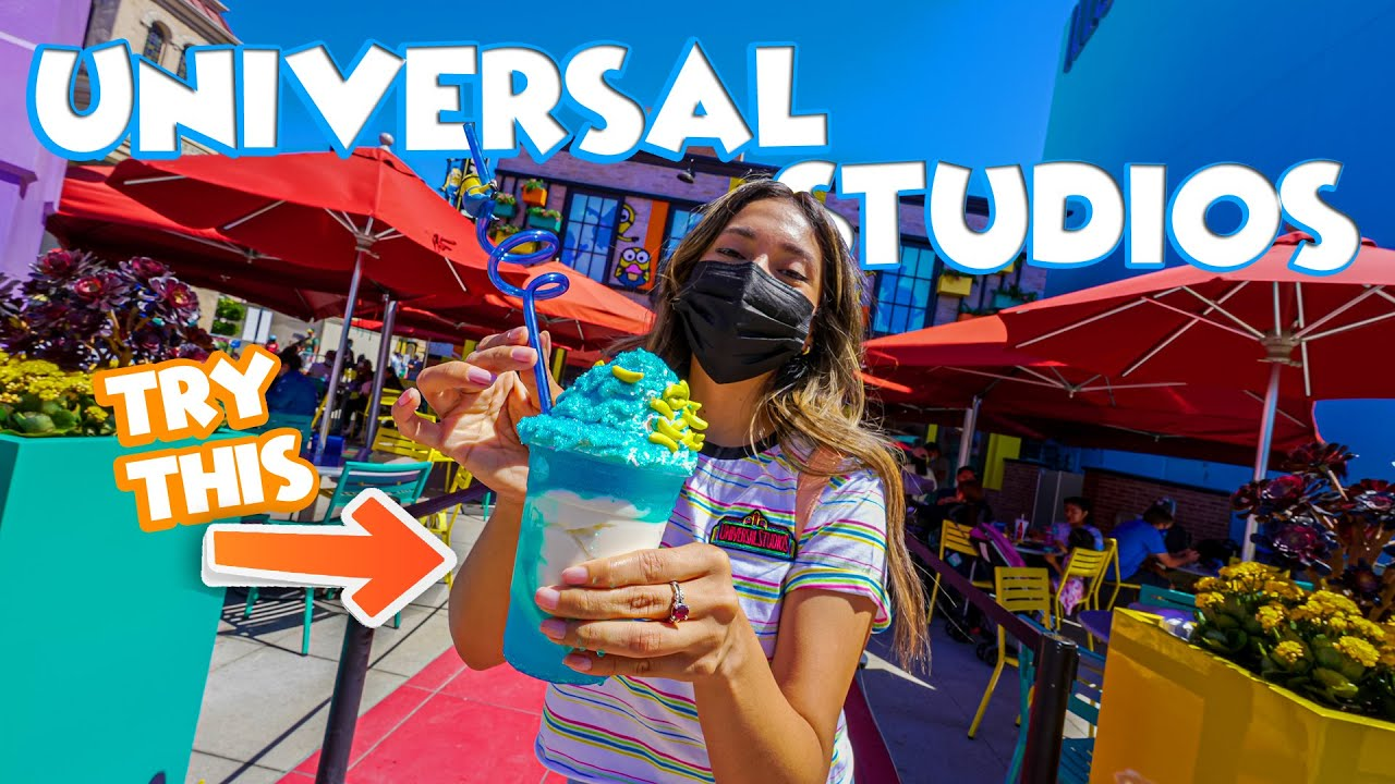 NEW Foods At Universal Studios Hollywood You MUST Try 2021!