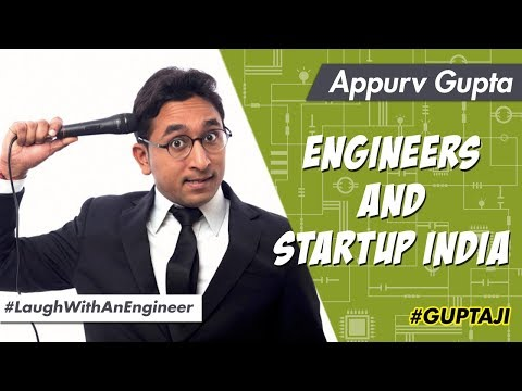 Engineers and StartUp India - Stand Up Comedy by Appurv Gupta
