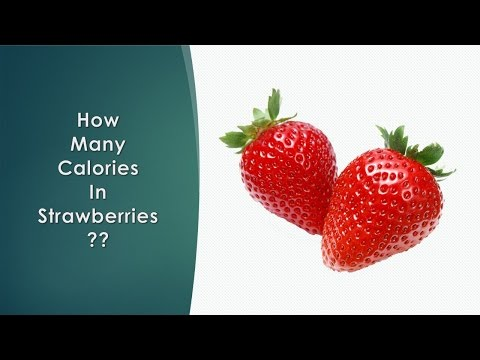 Healthwise: Diet Calories, How Many Calories in Strawberries? Calories Intake and Weight Loss