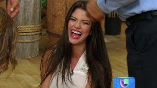 Ana Patricia se cayó en vivo en Despierta América