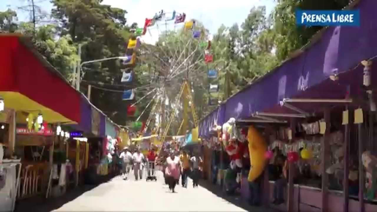 Feria de Jocotenango en Guatemala, colores, sabores y
