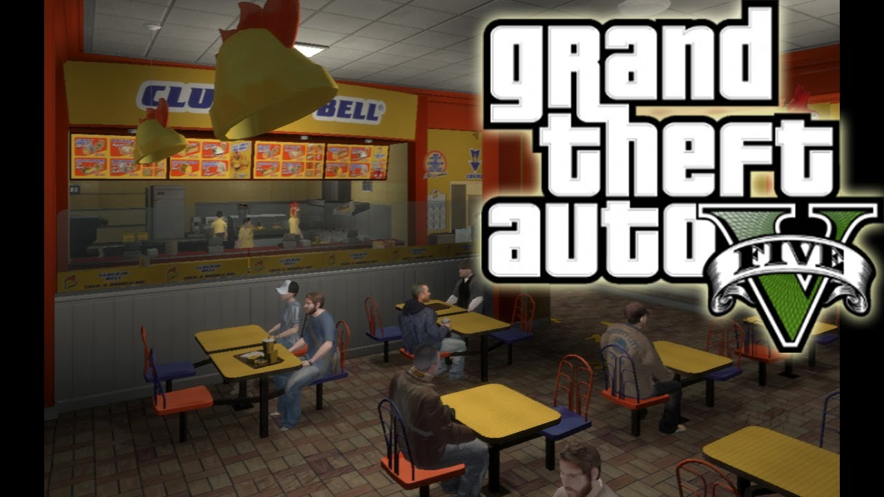 Fast Food Restaurants Gta 5