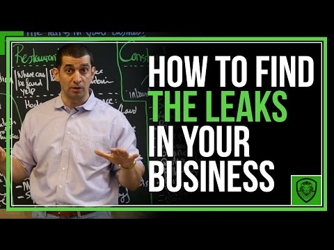 How to Find the Leaks in Your Business