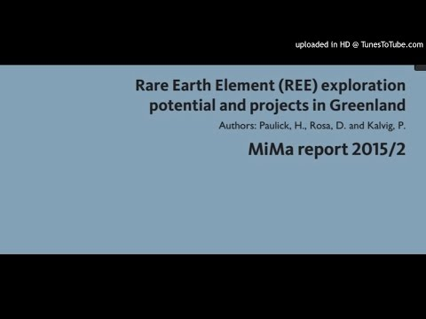 Rare Earth Element (REE) exploration potential and projects in Greenland