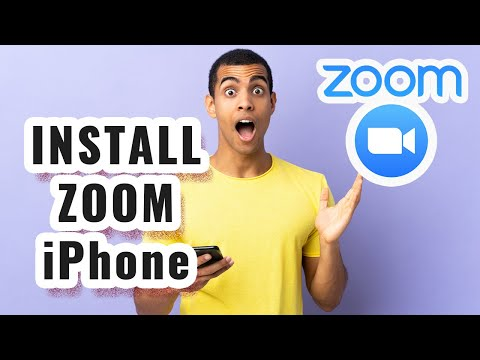 How To Install Zoom On iPhone Tutorial