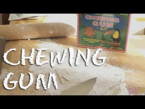 What Is and How to Make Chewing Gum?
