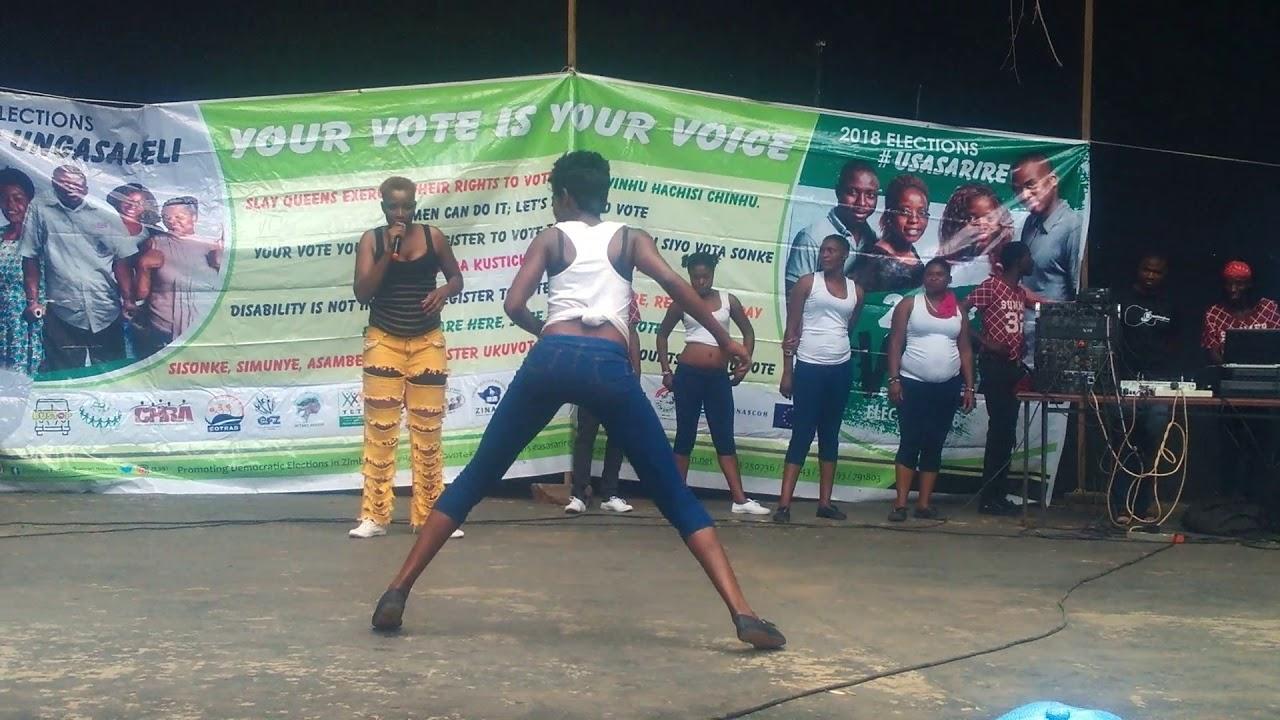 Wasu Dakota and Syndicate Girls's dances to people living ...
