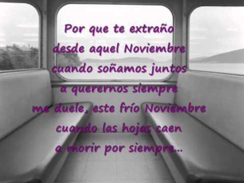 Reik Noviembre Sin Ti con letra