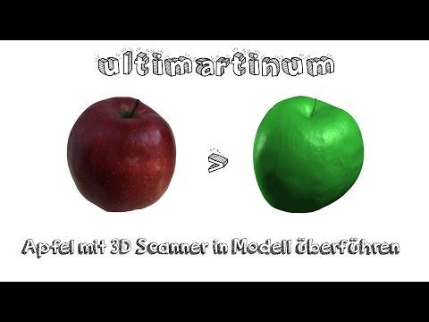 David SLS-3 HD | HP 3D Scanner | Vom Objekt zum Modell | 3D Scan Tutorial | Deutsch