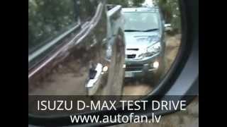 Isuzu d-max test drive 08.2012