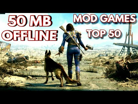 (50MB) Top 50 Open World MOD Games For Aandroid Mod Apk.......