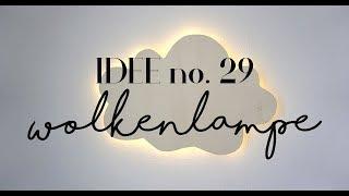 DIY I Wolkenlampe selber machen I Idee no. 29