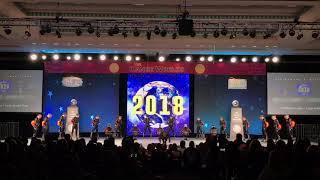 Champion Legacy - Senior Large Pom 2018 World Champions
