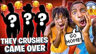 JAY, DEDE & BAM CRUSHES CAME TO THE HOUSE!❤️(THEY BROTHERS CAME TOO)