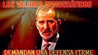 """REY FELIPE VI """"DEMANDA LA DEFENSA DE LOS VALORES DEMOCRATICOS"""" premios Princesa de Asturias"""