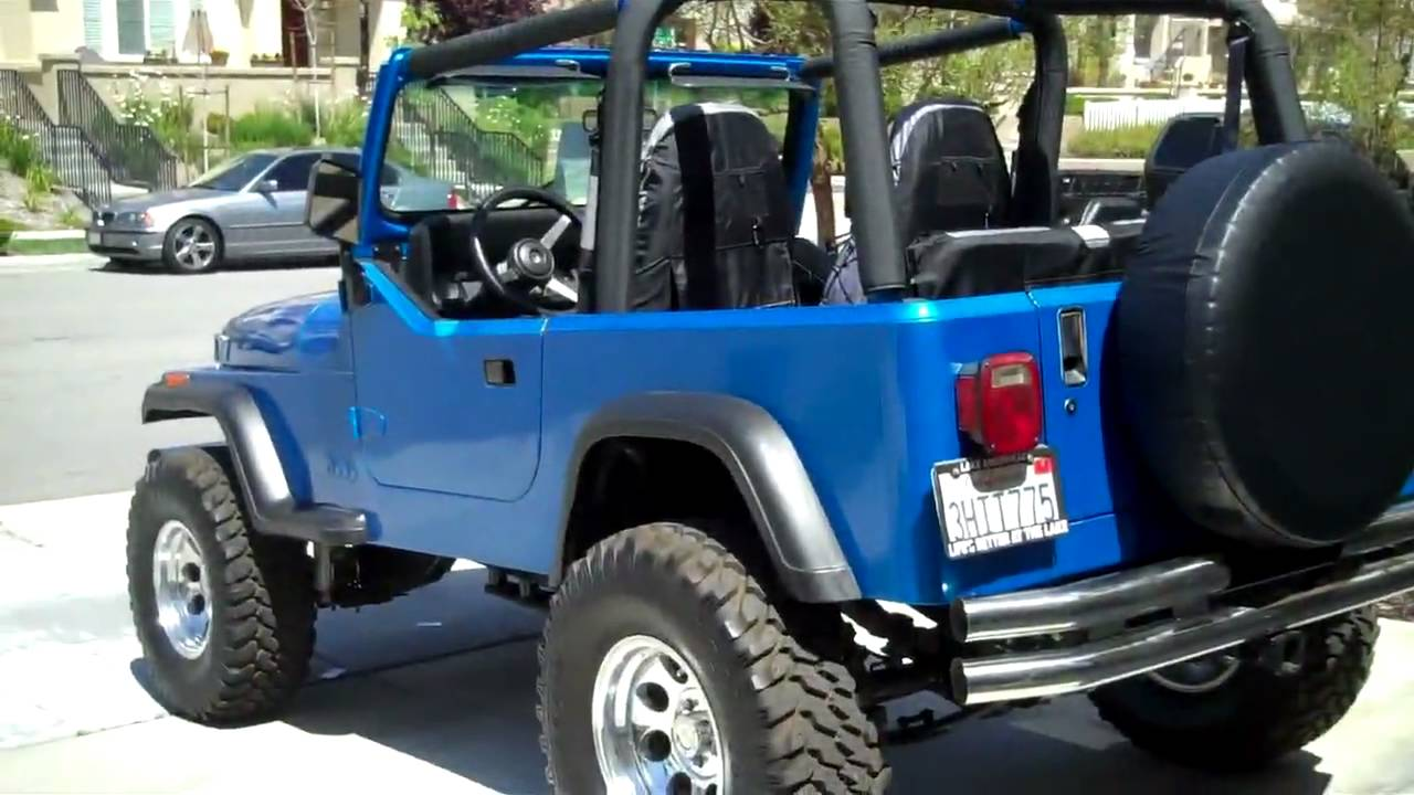 For Sale 1994 Jeep Wrangler Youtube
