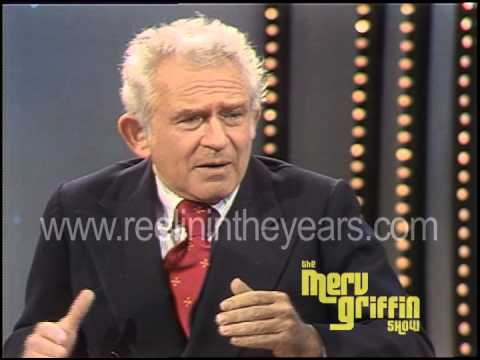 Norman Mailer Interview -Middle Age, Women writers, Communism (Merv Griffin Show 1980)