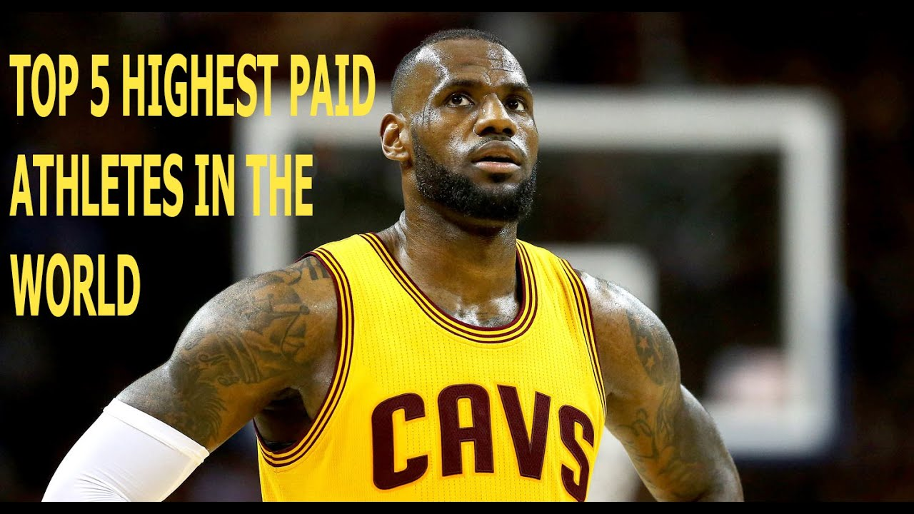 Top 5 Highest Paid Athletes in the World (2016) - YouTube