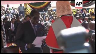 Zimbabwe - Tens of thousands of people attend Tsvangirai rally /  Long serving President is set to b