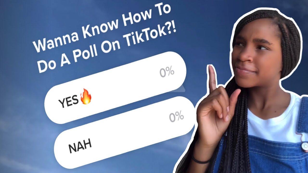 How To Do Polls On Tiktok Youtube