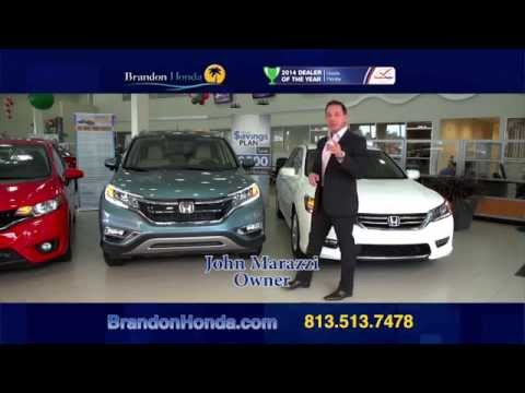 You Pay What We Pay on 2015 Accord, CR-V & Fit at Brandon Honda