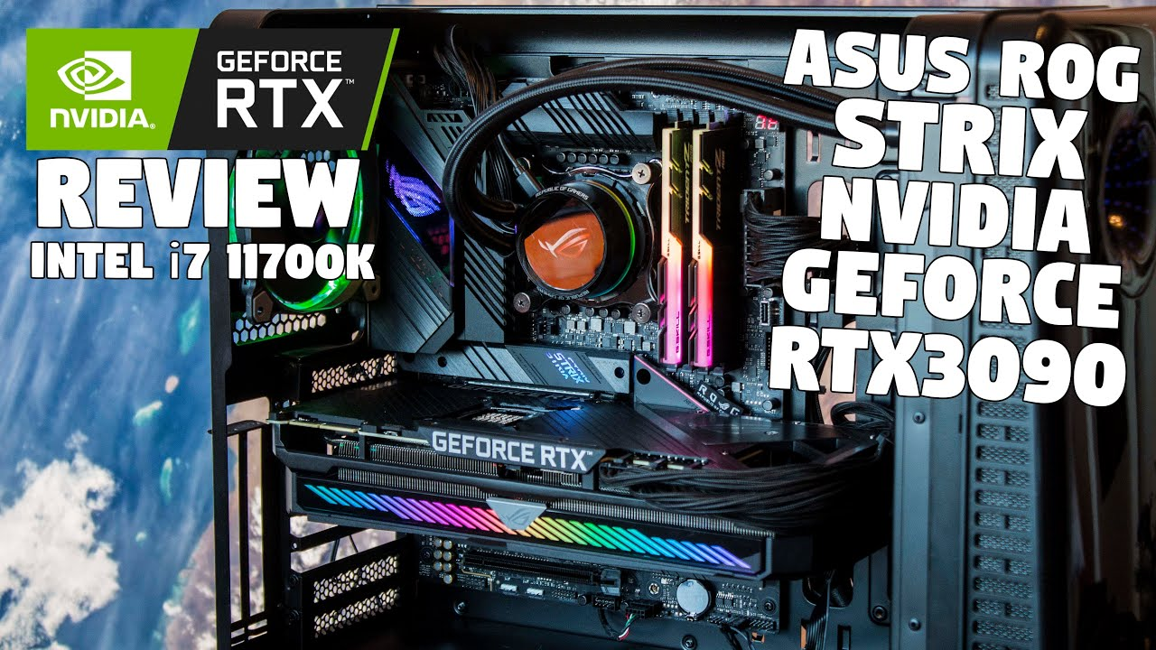 The ROG STRIX NVIDIA GeForce RTX 3090 Review by Tanel