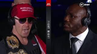 Colby Covington and Kamaru Usman exchange insults after UFC Newark!