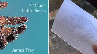 Book Chat & Color With Me| A Million Little Pieces by James Frey| @ReadingOnTheRun
