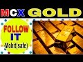 Gold Trading Ideas in MCX by Chart,Hindi|safetrading| by Mohit Gupta