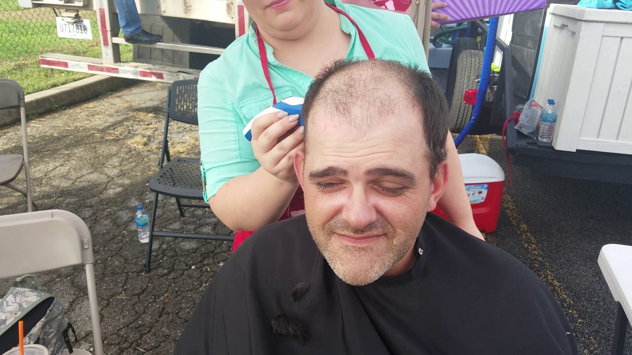 Haircut For Richard Us Army At Vetfest 2017 Youtube
