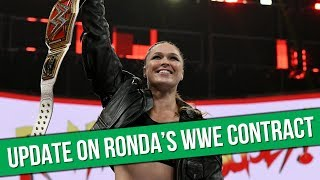 Update On Ronda Rousey's WWE Contract | Latest AEW Signing Revealed